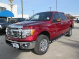2013 Ruby Red Metallic Ford F150 XLT SuperCrew 4x4 #88865883