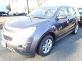 2014 Atlantis Blue Metallic Chevrolet Equinox LS #88884896