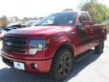 2014 Ruby Red Ford F150 FX2 Tremor Regular Cab #88884945