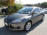 2014 Sterling Gray Ford Focus SE Sedan #88884957