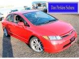 2007 Rallye Red Honda Civic Si Sedan #88884883