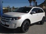 2014 White Platinum Ford Edge SEL #88884951