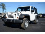 2012 Bright White Jeep Wrangler Sport 4x4 #88891935