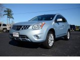 2012 Frosted Steel Nissan Rogue SL AWD #88891930