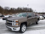 2014 Brownstone Metallic Chevrolet Silverado 1500 LTZ Z71 Double Cab 4x4 #88891829