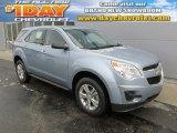 2014 Silver Topaz Metallic Chevrolet Equinox LS AWD #88891765