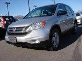 2010 Alabaster Silver Metallic Honda CR-V LX #88891809