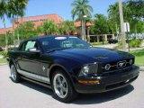 2006 Black Ford Mustang V6 Premium Convertible #8843359