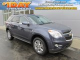 2014 Atlantis Blue Metallic Chevrolet Equinox LT AWD #88891762