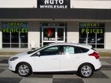2012 Oxford White Ford Focus SEL 5-Door #88891908