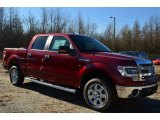 2014 Ruby Red Ford F150 XLT SuperCrew #88920498