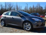 2014 Sterling Gray Ford Focus SE Hatchback #88920496