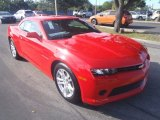 2014 Red Hot Chevrolet Camaro LS Coupe #88920880