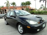 2004 Pitch Black Ford Focus ZTS Sedan #88920423