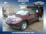 2014 Basque Red Pearl II Honda CR-V LX AWD #88920417