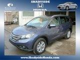 2014 Twilight Blue Metallic Honda CR-V EX-L AWD #88920415