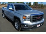 2014 Quicksilver Metallic GMC Sierra 1500 SLE Double Cab #88920711