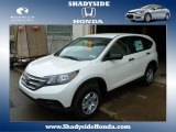 2014 White Diamond Pearl Honda CR-V LX AWD #88920414