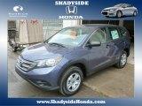 2014 Twilight Blue Metallic Honda CR-V LX AWD #88920405