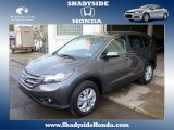 2014 Polished Metal Metallic Honda CR-V EX AWD #88920402