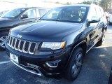 2014 Brilliant Black Crystal Pearl Jeep Grand Cherokee Overland 4x4 #88920326