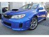 2012 WR Blue Mica Subaru Impreza WRX STi 4 Door #88920681
