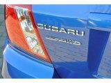2012 Subaru Impreza WRX STi 4 Door Marks and Logos
