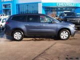 2013 Atlantis Blue Metallic Chevrolet Traverse LS #88920364