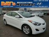 2013 Monaco White Hyundai Elantra GLS #88920761