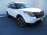 2014 White Platinum Ford Explorer Sport 4WD #88920548