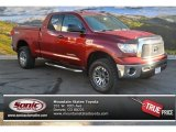 2010 Salsa Red Pearl Toyota Tundra TRD Double Cab 4x4 #88920296