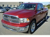 2011 Deep Cherry Red Crystal Pearl Dodge Ram 1500 SLT Quad Cab #88920752