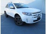 2014 White Platinum Ford Edge SEL #88920543