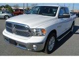 2014 Bright White Ram 1500 SLT Crew Cab 4x4 #88920745