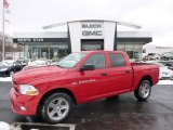 2012 Flame Red Dodge Ram 1500 ST Crew Cab 4x4 #88920519