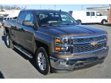 2014 Brownstone Metallic Chevrolet Silverado 1500 LT Double Cab 4x4 #88960367