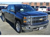 2014 Tungsten Metallic Chevrolet Silverado 1500 LT Double Cab 4x4 #88960364