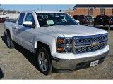2014 Summit White Chevrolet Silverado 1500 LT Double Cab 4x4 #88960362