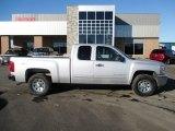 2012 Silver Ice Metallic Chevrolet Silverado 1500 LS Extended Cab 4x4 #88960455