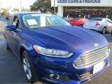 2013 Deep Impact Blue Metallic Ford Fusion SE 1.6 EcoBoost #88959977