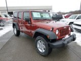 2014 Jeep Wrangler Unlimited Copperhead Pearl