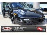 2012 Black Porsche 911 Turbo S Coupe #88960258