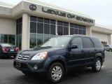 2006 Royal Blue Pearl Honda CR-V LX 4WD #8846448