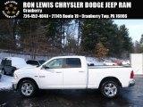 2014 Bright White Ram 1500 Big Horn Crew Cab 4x4 #88960051