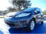 2013 Violet Gray Ford Fiesta SE Hatchback #88960047
