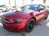 2014 Ruby Red Ford Mustang V6 Coupe #88959954