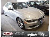 2014 Glacier Silver Metallic BMW 3 Series 328d Sedan #88960242