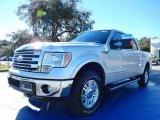 2014 Ingot Silver Ford F150 Lariat SuperCrew 4x4 #88960033