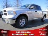 2014 Bright Silver Metallic Ram 1500 SLT Crew Cab 4x4 #88960139