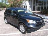 2007 Nighthawk Black Pearl Honda CR-V EX-L #8837189